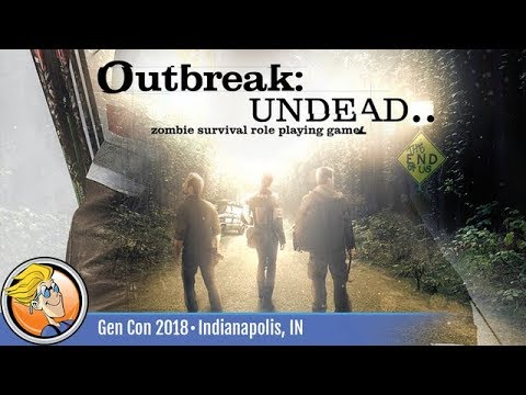 Outbreak: Undead — RPG overview at Gen Con 2018