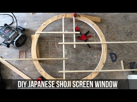 How To Make A Japanese Shoji Screen Window