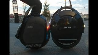 Ninebot One Z10 vs Inmotion V10F (Z10 vs V10)