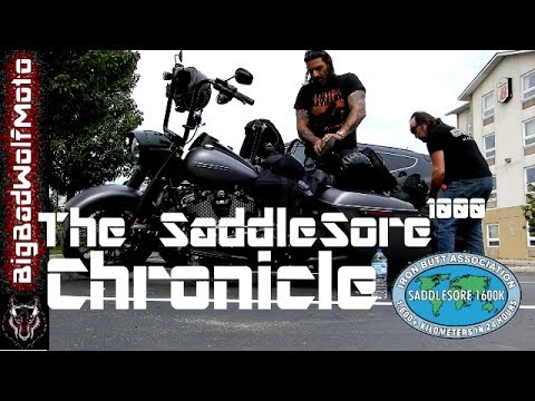 "THE ""SADDLE SORE 1000"" CHRONICLE - 2017 HARLEY DAVIDSON ROAD KING SPECIAL"