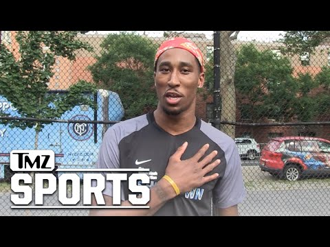 Nets' Rondae Hollis-Jefferson: I'll Miss Brooke Lopez, Pumped About D'Angelo Russell | TMZ Sports