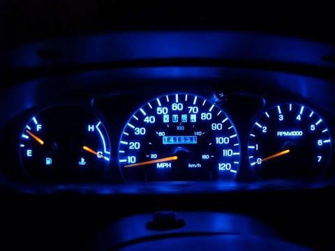 1997 F150 Dashboard LED Light Replacment