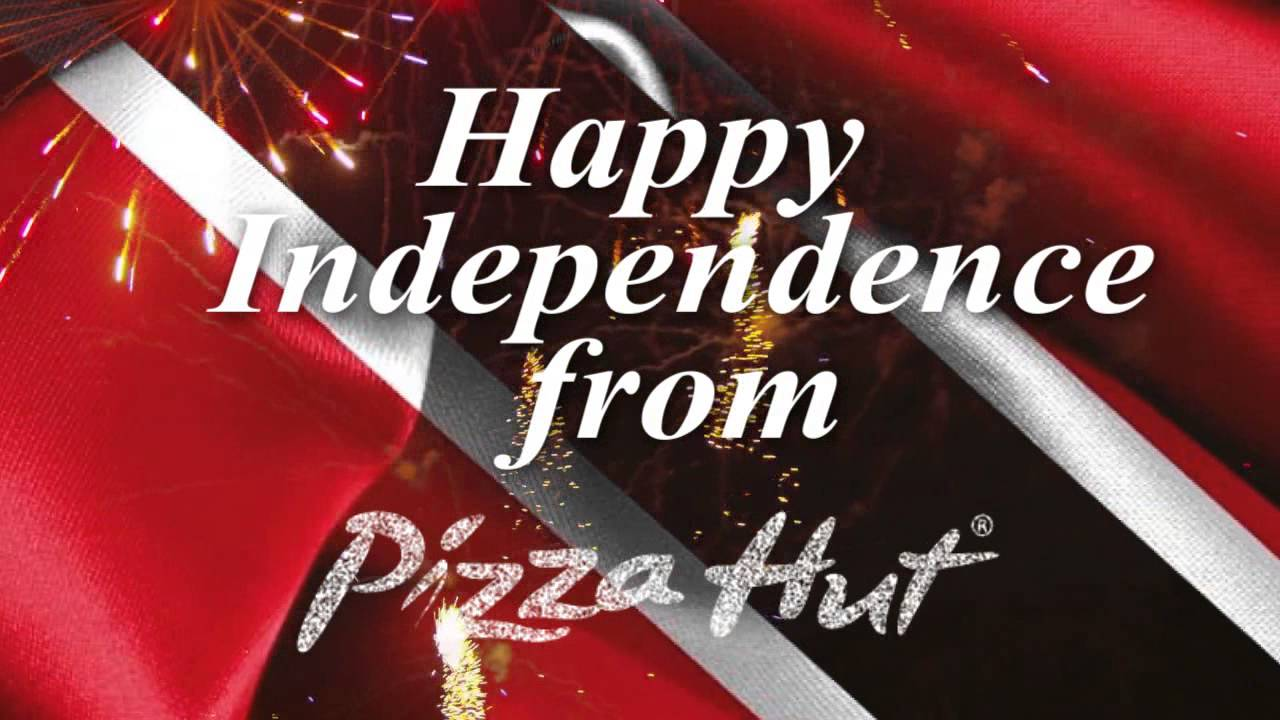 pizza hut independence day greeting