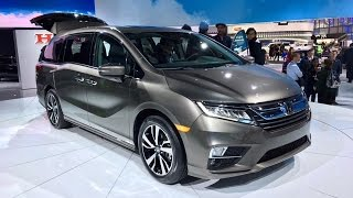 2018 Honda Odyssey – Redline: First Look – 2017 NAIAS