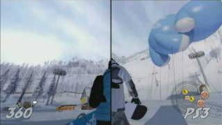 Shaun White Snowboarding - PS3 Vs Xbox 360 Vs Wii HD