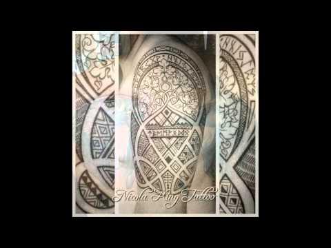 African Tattoo Design