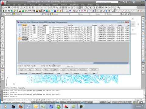 Make Strata Grids & Define PreCalculated Grids File