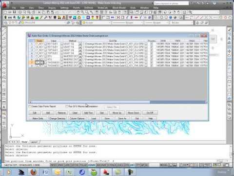 Make Strata Grids & Define PreCalculated Grids File