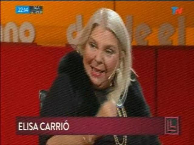 Elisa Carrió en Desde El Llano (Completo) 21/05/18