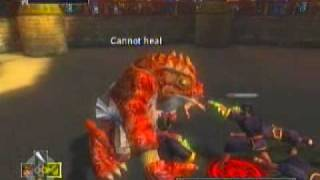 Glitch In Jade Empire: Toad Demon Using Dragon Sword