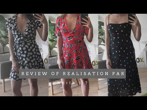 REVIEW OF REALISATION PAR   Worth It?   3 Dresses Worth $800AUD   The Issa Edit