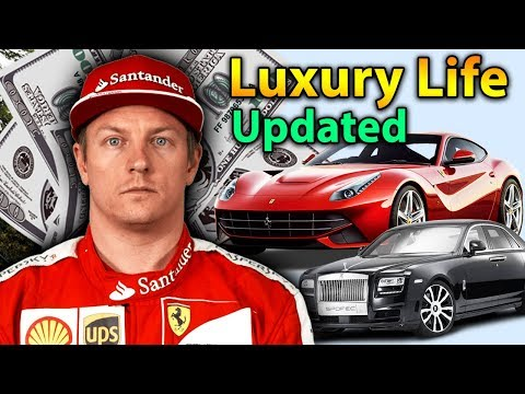 Kimi Räikkönen Luxury Lifestyle | Bio, Family, Net Worth, Earning, House, Cars