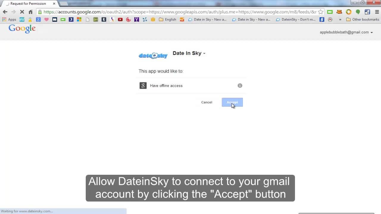 How To Sign Up Using Gmail and Facebook