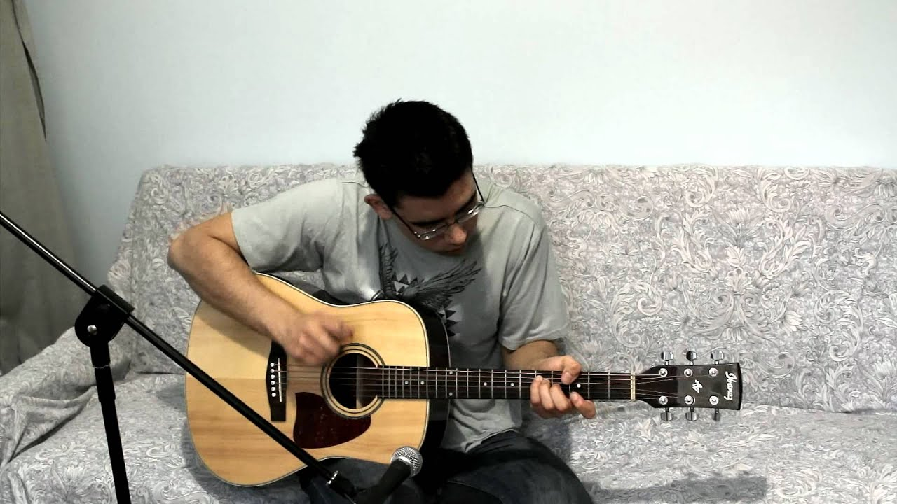 Muse - Plug In Baby (Solo Acoustic Guitar Cover)