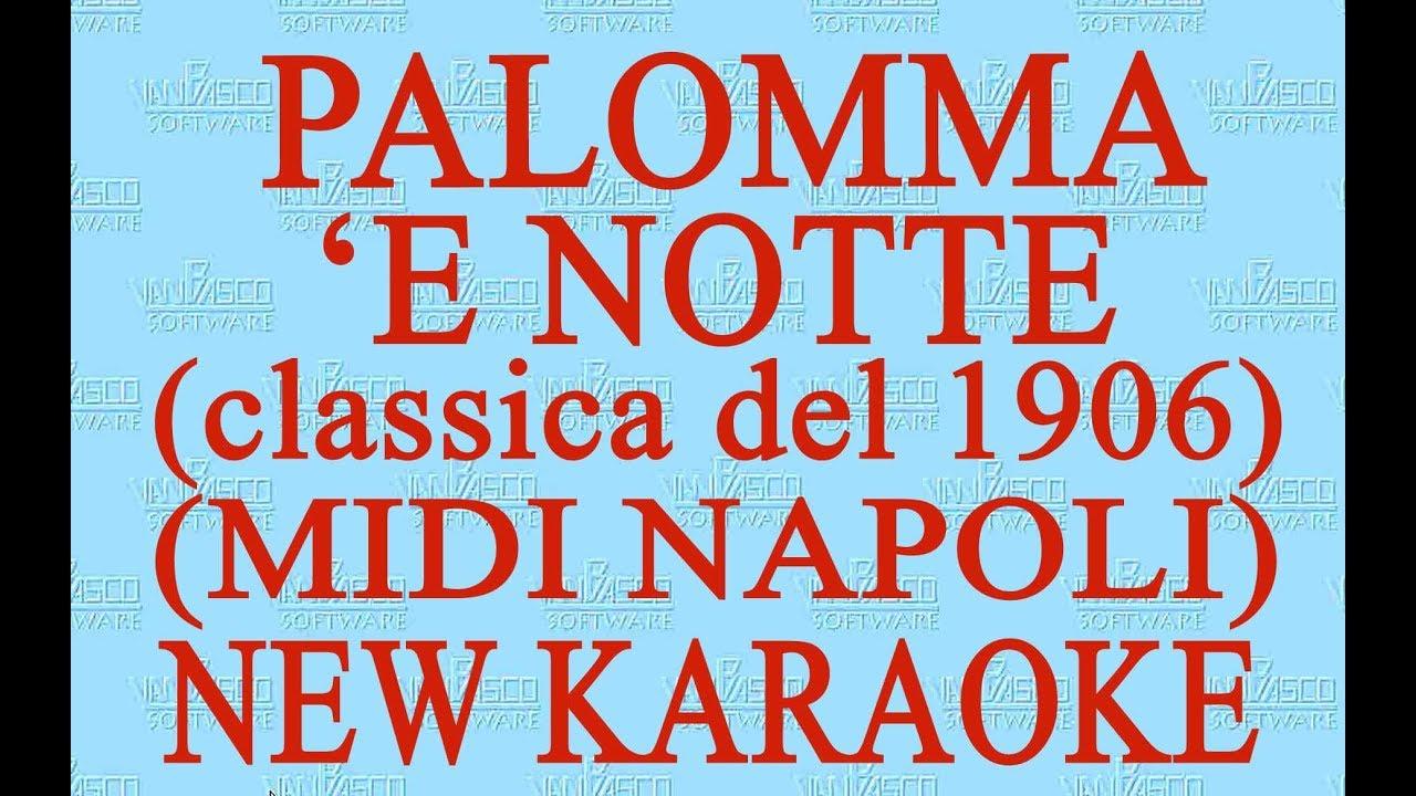 come ottenere nuovi oggetti foto ufficiali Testo Palomma di Canzoni Napoletane