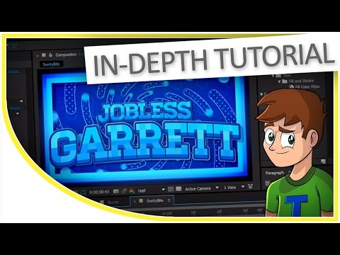 [TUTORIAL] How to Make a 2D Intro for YouTube (After Effects CC) Custom Text, Shapes & Sync (BTS #1)