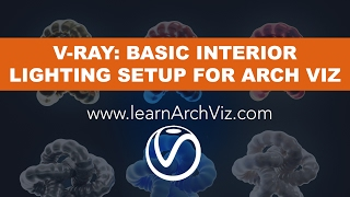 Vray Lights Tutorial: Basic Vray Lighting Setup for Architectural Interior
