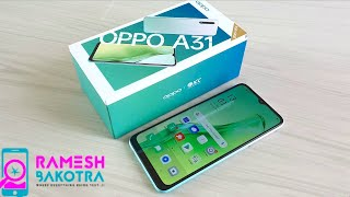 Oppo A31 Unboxing and Full Review