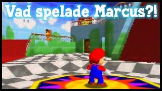 Vad spelade Marcus förr? - Super Mario 64!