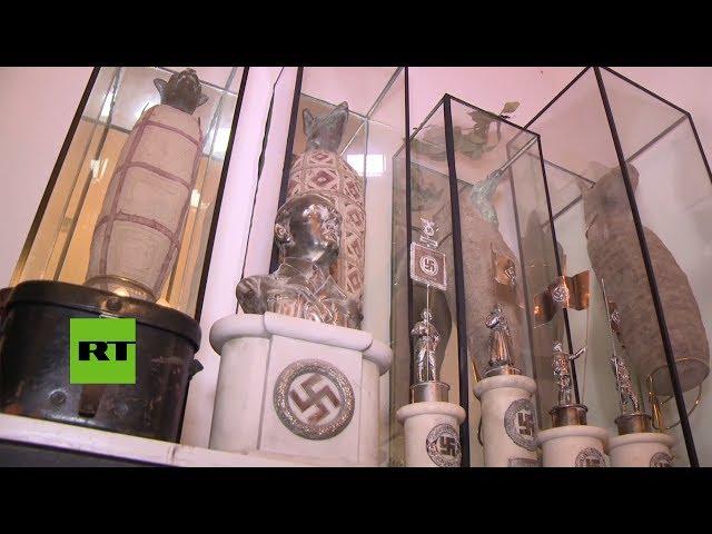 Incautan en Argentina artefactos históricos nazis, egipcios y chinos