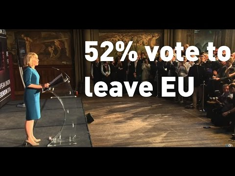 Brexit 2016: The UK votes to leave the European Union
