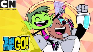 Teen Titans Go! | Best Bros And Waffles | Cartoon Network UK