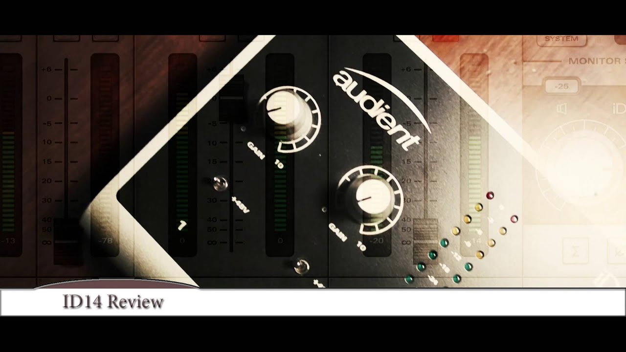 best audio interface for home studio 2019 audient id14 review youtube