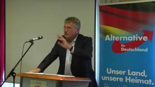 09.08.17 Vortrag von Prof. Dr. Jörg Meuthen in Satteldorf AfD