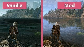 The Witcher 3 – Maximum 4K Graphics 2017 vs. Vanilla Mod Comparison thumbnail