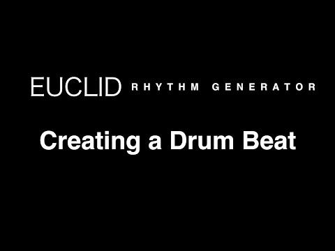 Creating a Drum Beat with Euclid Rhythm Generator