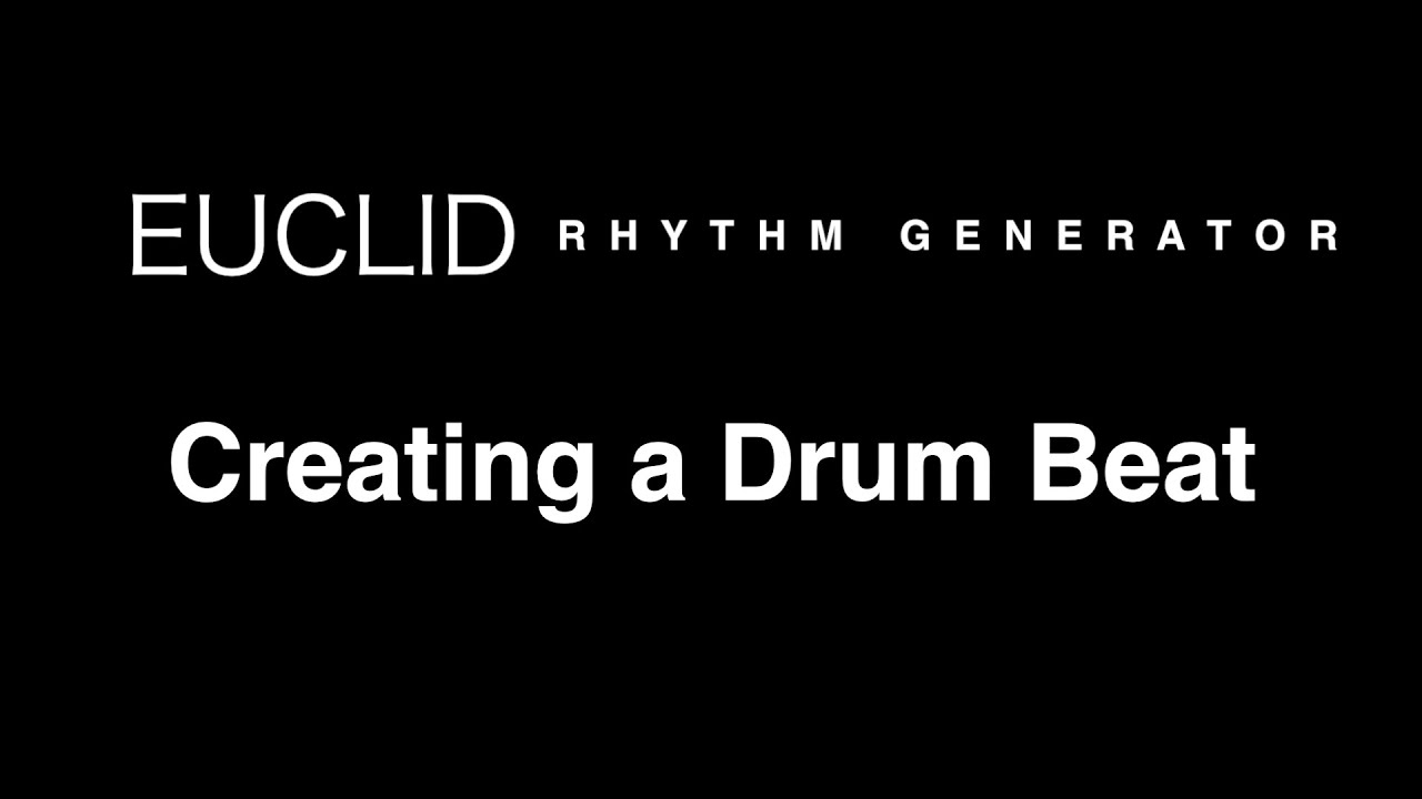 Euclid Rhythm Generator | Gate Sequencer | Shop | Propellerhead