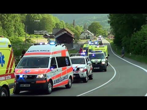 The possibly most amazing international EMS ambulances parade - Rallye Rejviz 2018 in Czechia