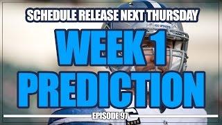 2017 NFL Schedule Release Next Thursday