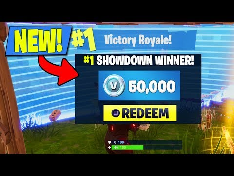 HOW TO WIN 50,000 V-BUCKS IN FORTNITE! NEW