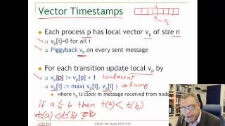 Lecture 2. Unit 4. Logical clocks and vector clocks, ID2203