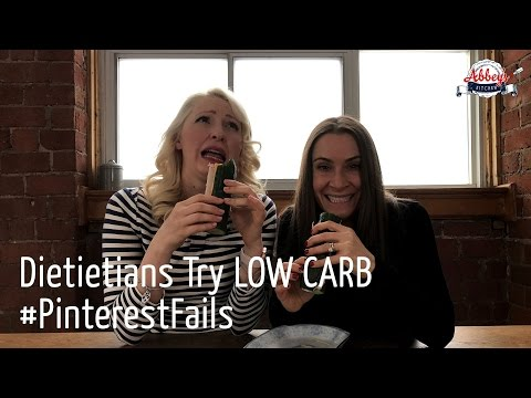 Dietitians Try LOW CARB Bread Free Pinterest Fails | CLOUD BREAD and Other No Bread KETO Recipes