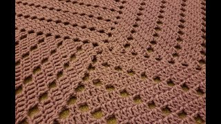The Which-Way Filet Blanket Crochet Tutorial!