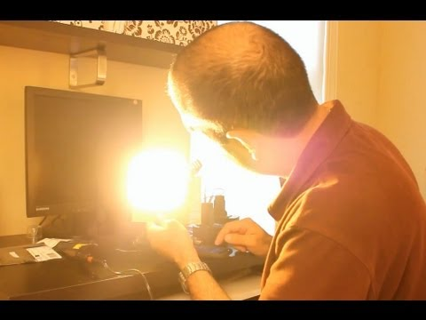 The Strobe Light Effect (Levitating Water Experiment)