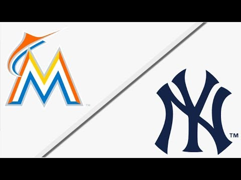 Miami Marlins vs New York Yankees | Full Game Highlights | 4/16/18