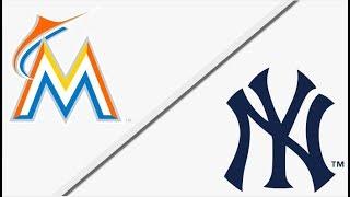 Miami Marlins vs New York Yankees | Full Game Highlights | 4/16/18