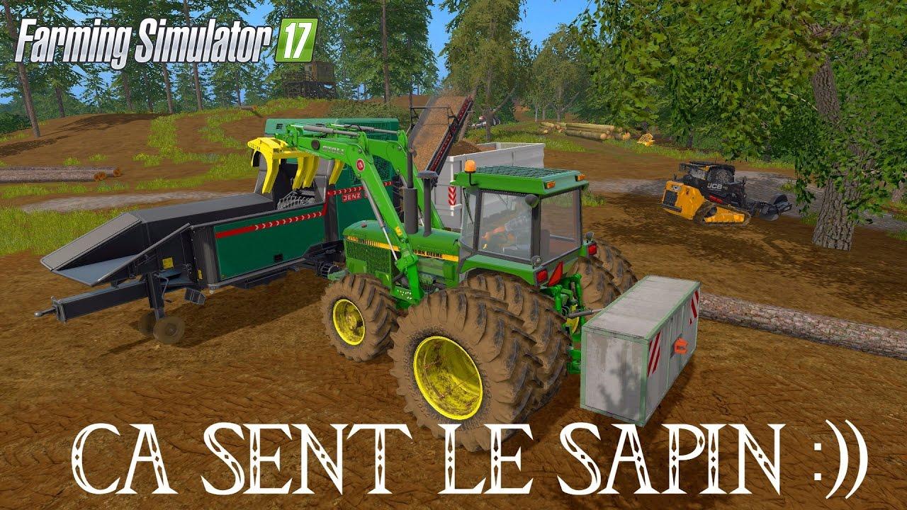 Acheter Granulés De Bois - [FS17] CA SENT LE SAPIN !!! #2 Broyer du Bois C'est facile )) YouTube