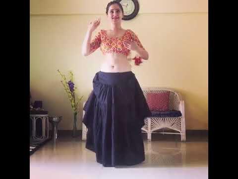 natural belly dance by bengali actress thumbnail