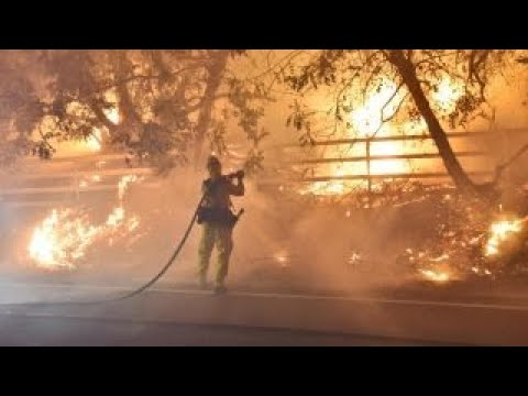 California wildfire conditions are 'as bad as they can be,' officials warn