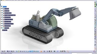 Catia V5 Tutorial|Machine Design|JCB|How to create and simulate an Excavator|Part 8