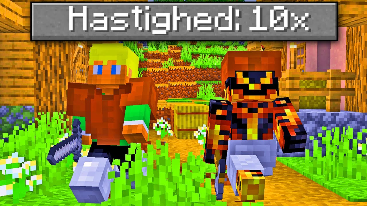 Download Alt Er 10 Gange HURTIGERE I Minecraft!