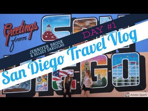 San Diego Travel Vlog! Day #1