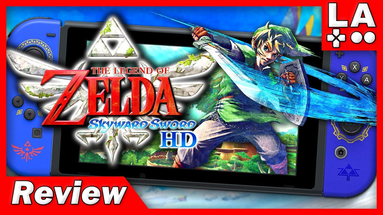 The Legend of Zelda Skyward Sword HD Review (Video Game Video Review)