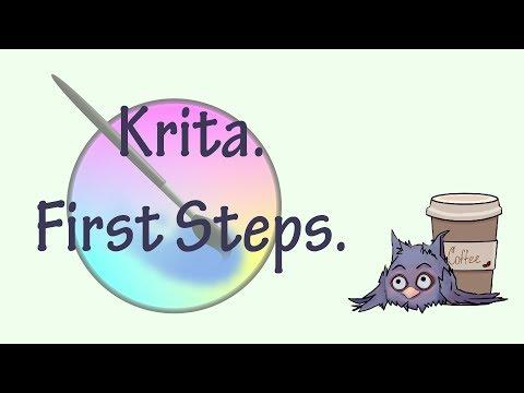 Krita tutorial for beginners