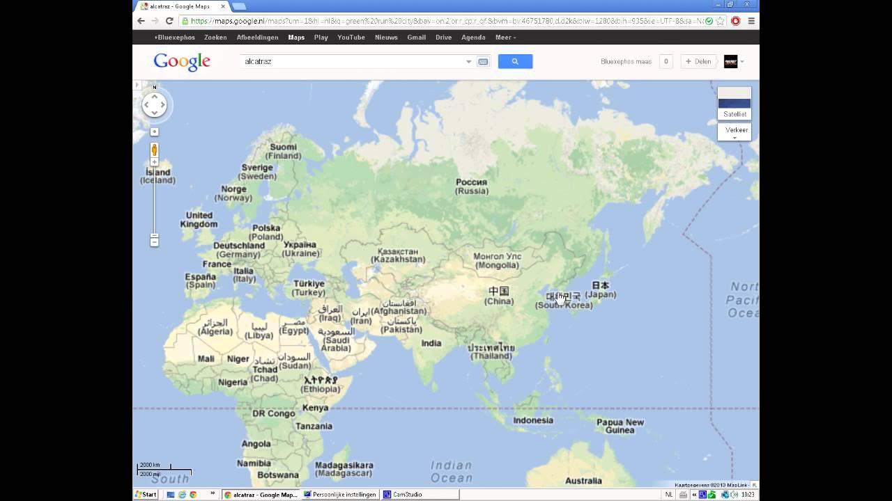 Alcatraz on google maps real youtube alcatraz on google maps real gumiabroncs Image collections