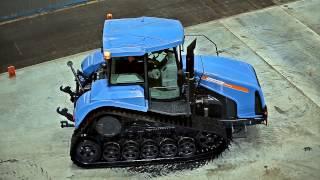 Тяговые испытания трактора МТЗ-2103